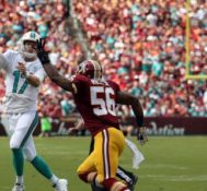 The Miami Dolphins escape Washington With an UGLY victory