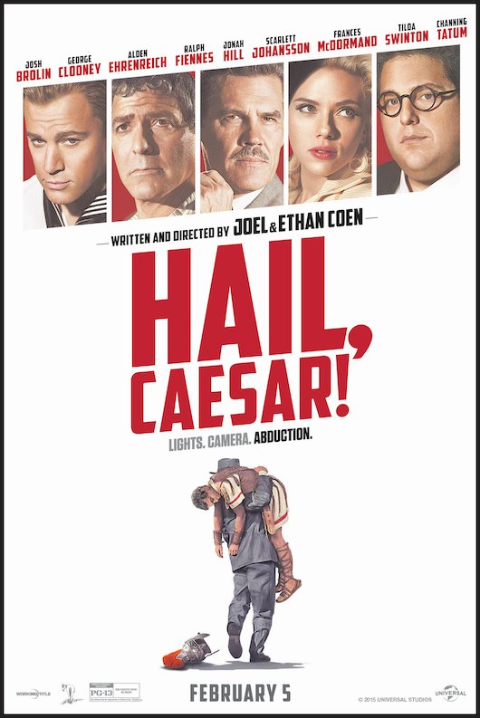 HAIL, CAESAR! one sheet