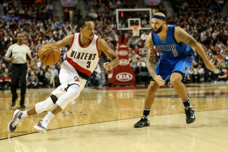 NBA: DEC 01 Mavericks at Trail Blazers