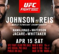 Fernando Talks UFC on Fox: Johnson vs. Reis