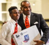 Miami Dolphins Hosts 5000 Role Models of Excellence Foundation Wilson Scholars Sendoff