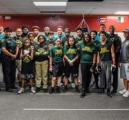 Miami Dolphins Partners with Broward Sheriff's Office for Football Unites Community Building and Ride Along for the Third Consecutive Year