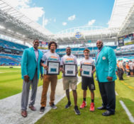 Miami Dolphins Announce Week 7 PlayFootball Award Winners