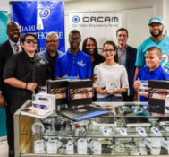 Miami Dolphins FOOTBALL UNITES™ In Partnership With Israeli Consulate in Miami and Miami Lighthouse for the Blind Provide Wearable Artificial Intelligence for the Holiday Season