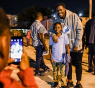 Miami Dolphins Partner with Ross Initiative in Sports for Equality (RISE), Miami-Dade Schools Police Department and North Miami Police Department for FOOTBALL UNITES™ Community Building and Ride-Along