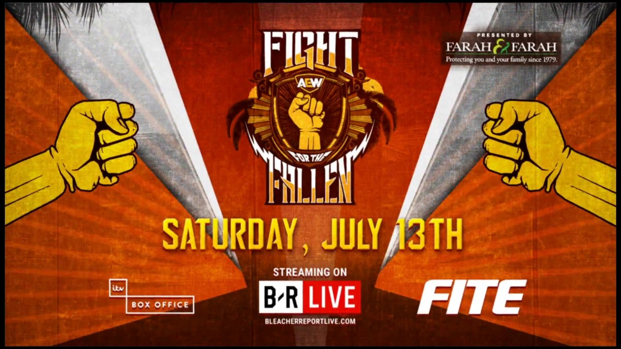 Image result for aew fight for the fallen